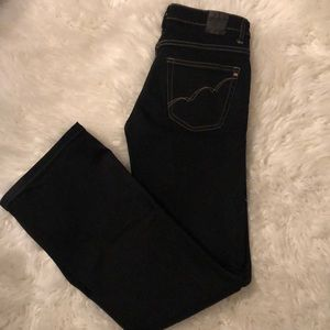 Black boot cut jean